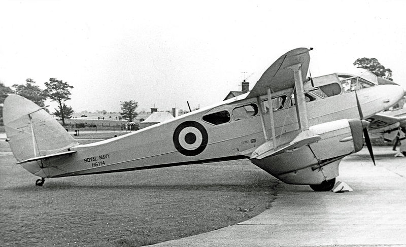 De Havilland DH-89A Dragon Rapide de la Royal Navy