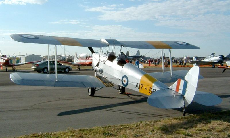 De Havilland DH-82A Tiger Moth australien