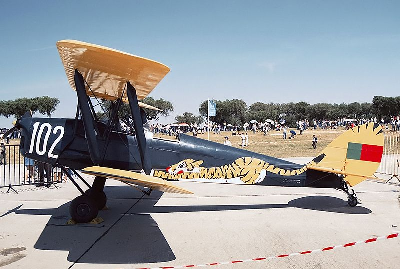De Havilland DH-82 Tiger Moth portugais