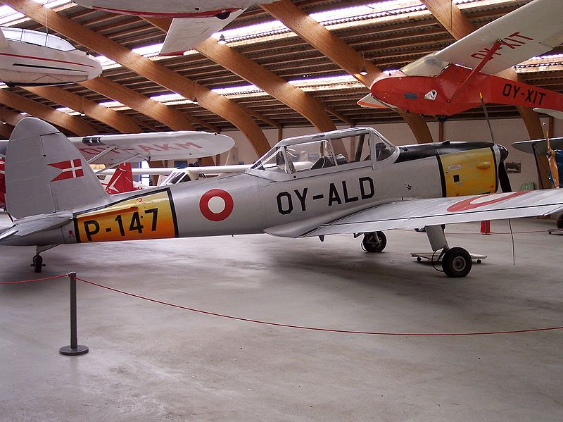 De Havilland Canada DHC-1 Chipmunk danois