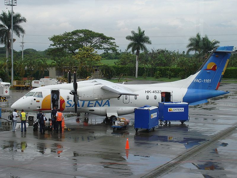 Dornier Do 328-120 de la SATENA colombienne