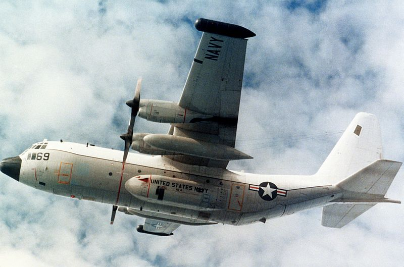 Lockheed EC-130Q de l'US Navy en vol