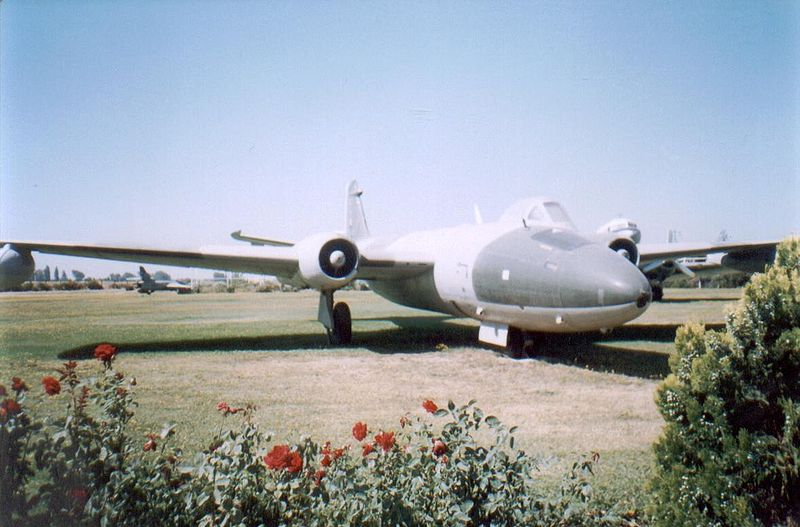 BAC Canberra PR.9 chilien