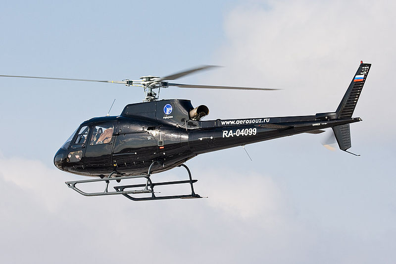 Aérospatiale AS350 B2 Écureuil civil