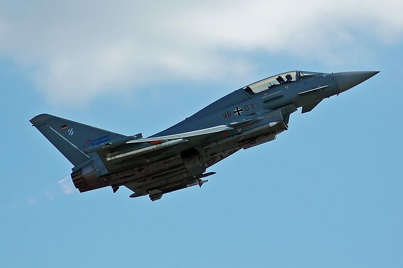 Eurofighter EF-2000T Typhoon biplace allemand