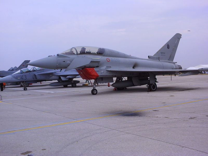 Eurofighter EF-2000T Typhoon biplace italien