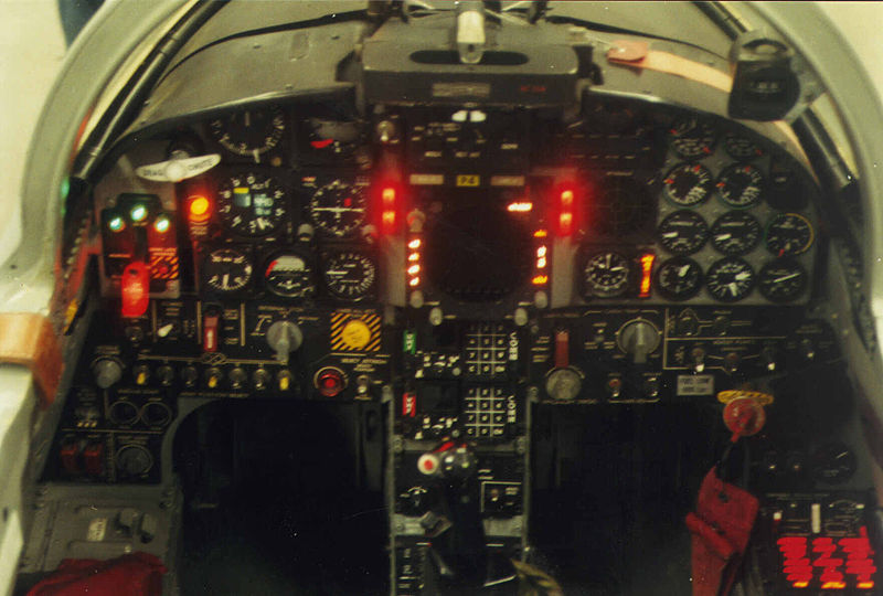 Northrop F-5E Tiger II - Cockpit