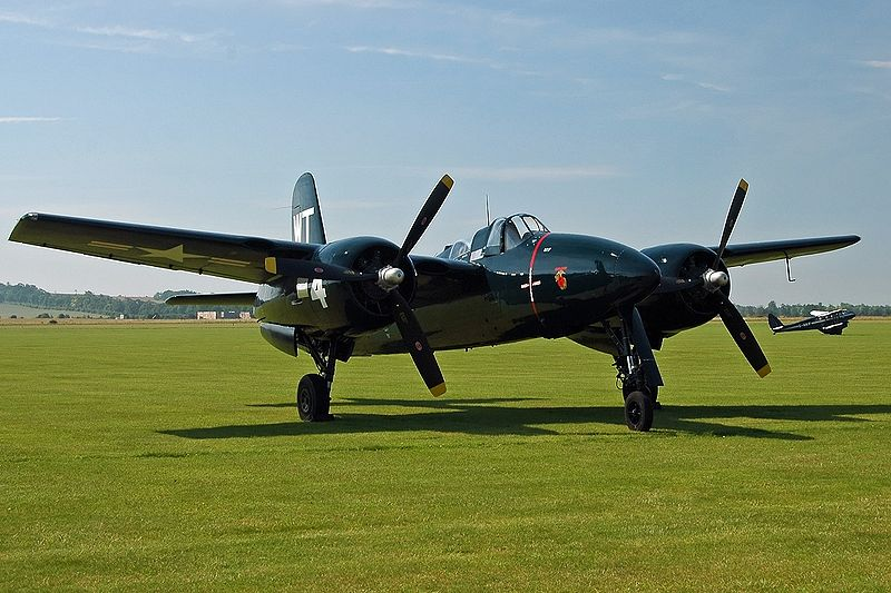 Grumman F7F Tigercat (F7F-3P) de collection