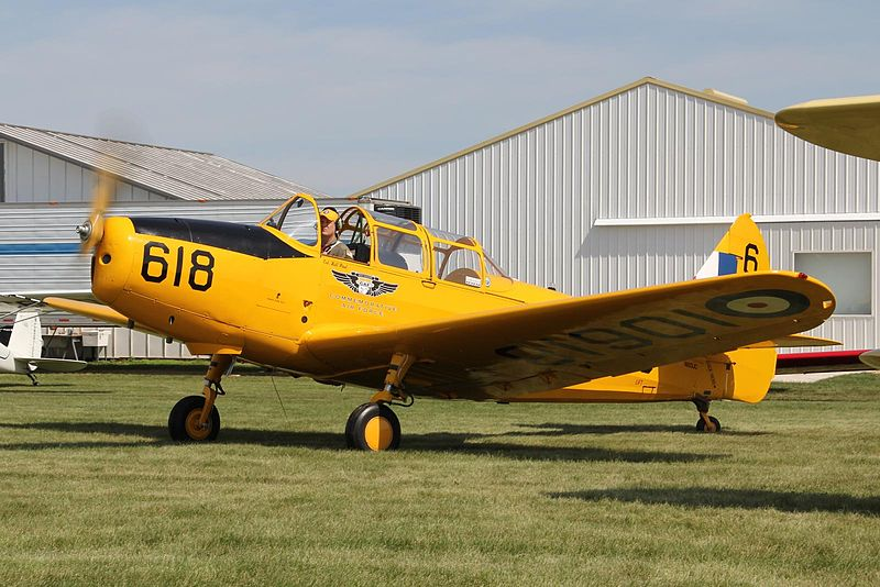 Fairchild PT-19 Cornell (M-62A-3) de collection