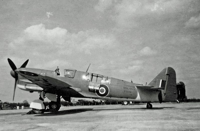 Fairey Firefly FR.1 de la Royal Navy