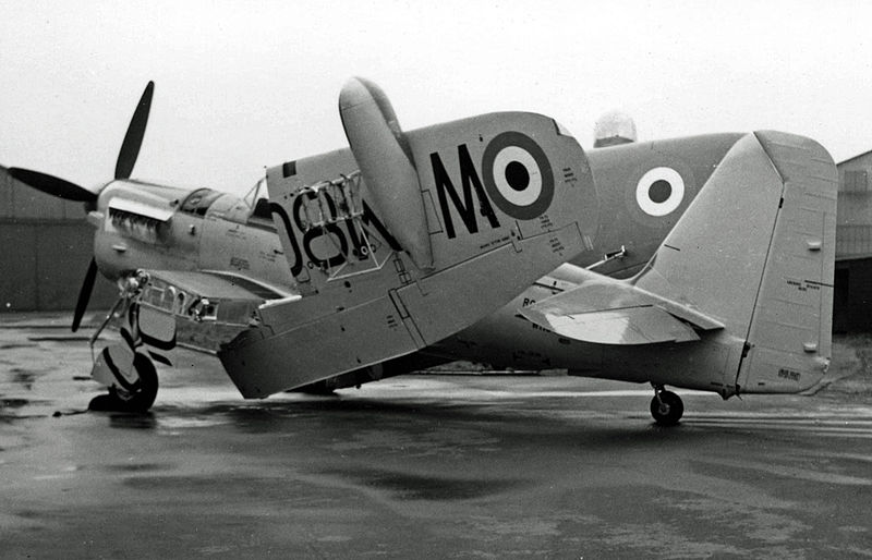 Fairey Firefly T.7 de la Royal Navy