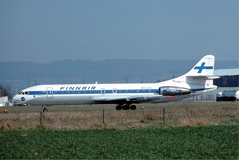 Sud-Aviation SE-210 Caravelle 10B civil