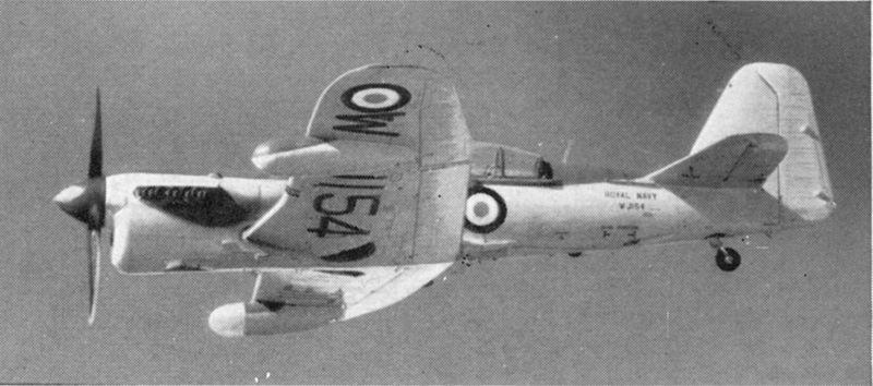 Fairey Firefly AS.7 de la Royal Navy