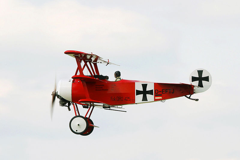 Fokker Dr.I de collection rouge