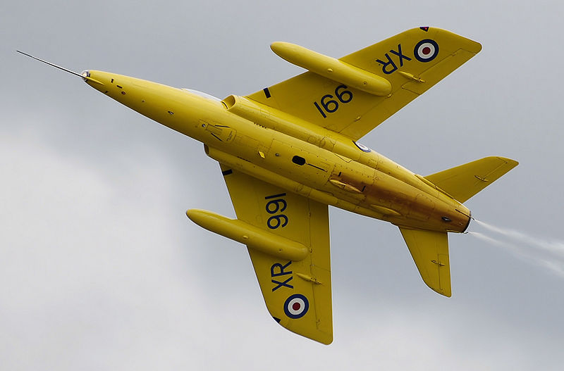Folland Gnat T.1 en vol