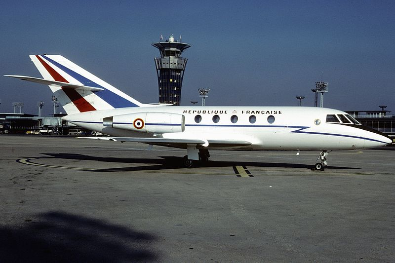 Falicon France  City pictures : AviationsMilitaires.net — Dassault Falcon 20