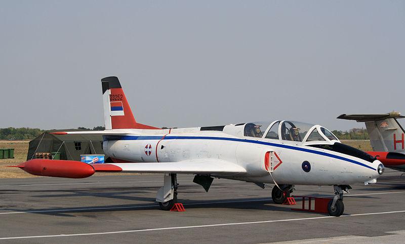 Soko G-2 Galeb serbe