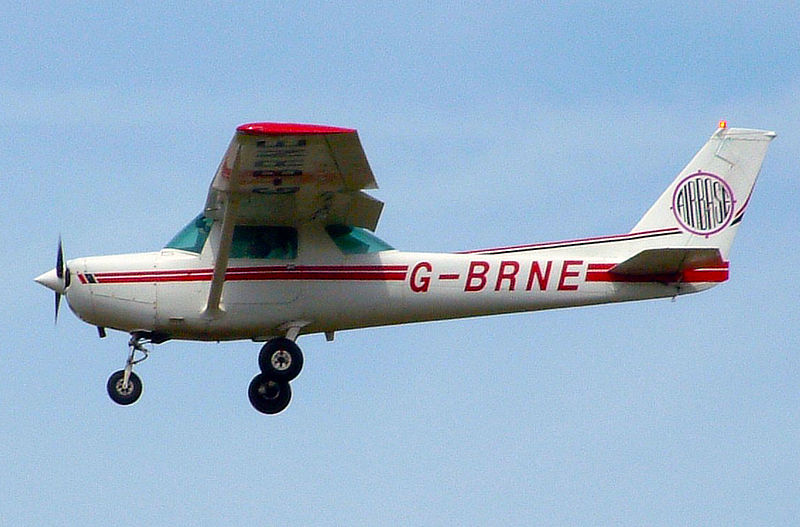 Cessna 152 civil de 1980 en vol