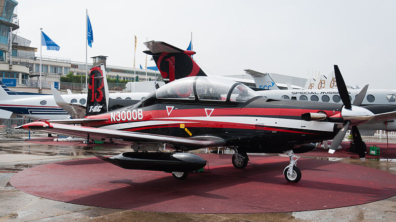 Hawker Beechcraft T-6C Texan II - Prototype en exposition