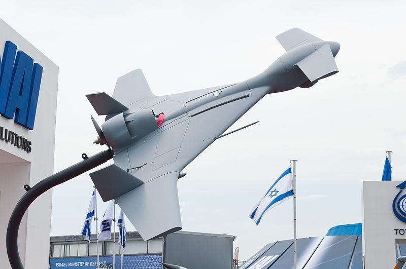 التعاون التقنى العسكرى بين اسرائيل نتنياهو وتركيا اردوغان  800px-IAI_Harop_PAS_2013_01