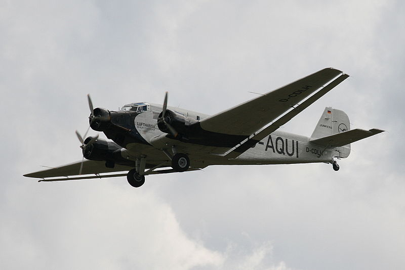 Junkers Ju 52/3mg2e civil en vol