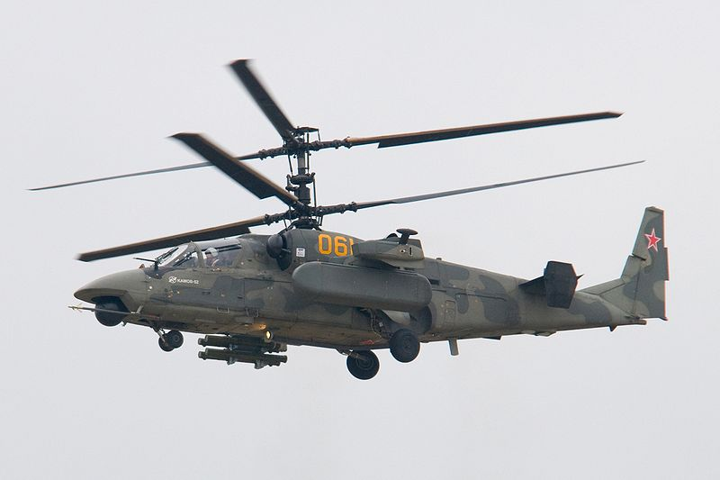 Kamov Ka-52 Alligator - Prototype n°1