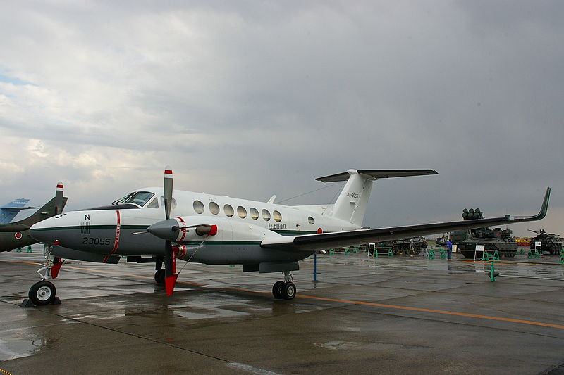 Beech 200 Super King Air (LR-2) de l'armée japonaise