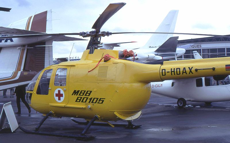 MBB Bo105CBS civil