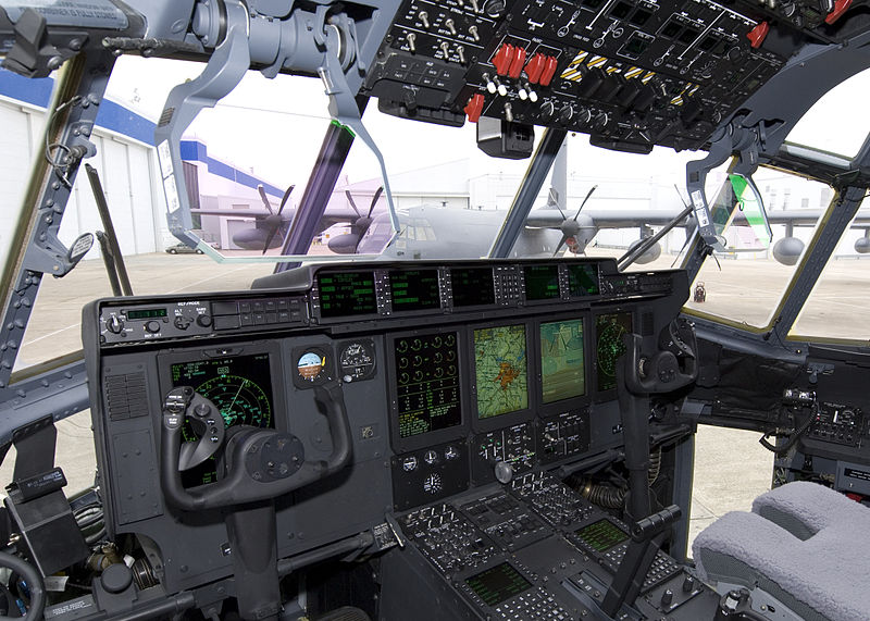 Lockheed-Martin MC-130J - Cockpit