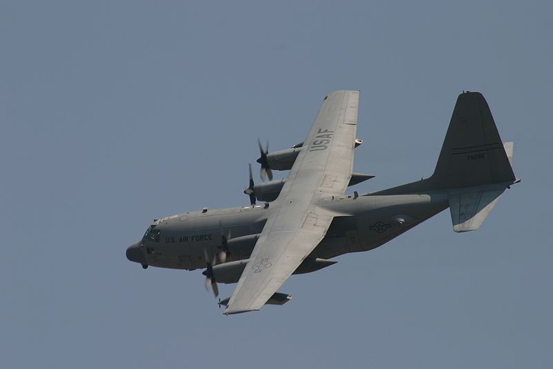 Lockheed MC-130W Combat Spear de l'USAF en vol