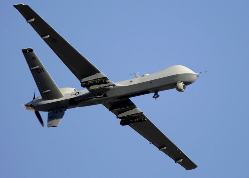 General Atomics MQ-9A Reaper de l'USAF en vol