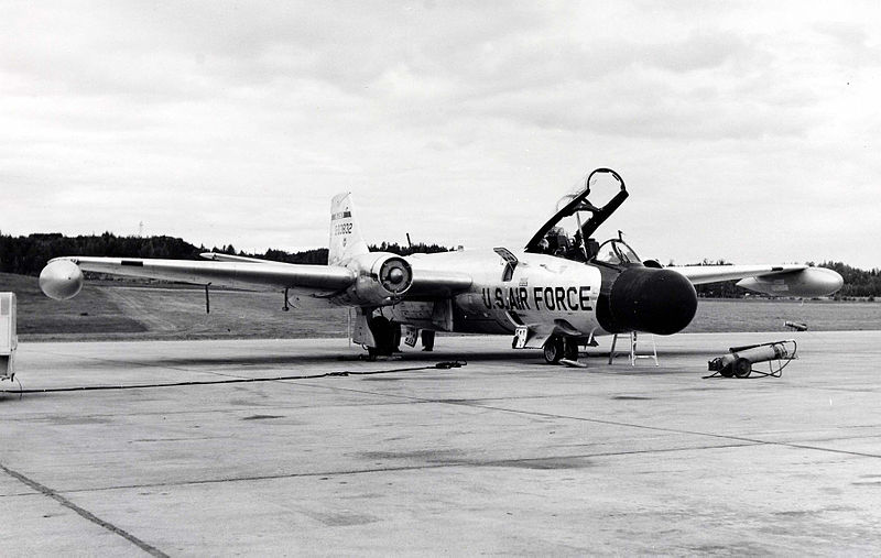 Martin RB-57C Night Intruder de l'USAF