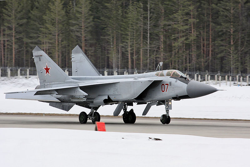 Mikoyan-Gourevitch MiG-31 russe