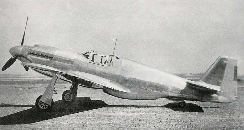 North American P-51 Mustang - Prototype