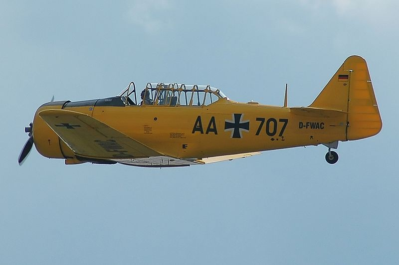 North American T-6D Texan allemand
