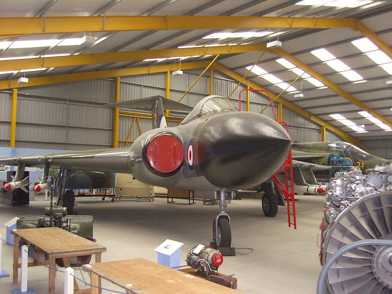 Gloster Javelin FAW.8 exposé