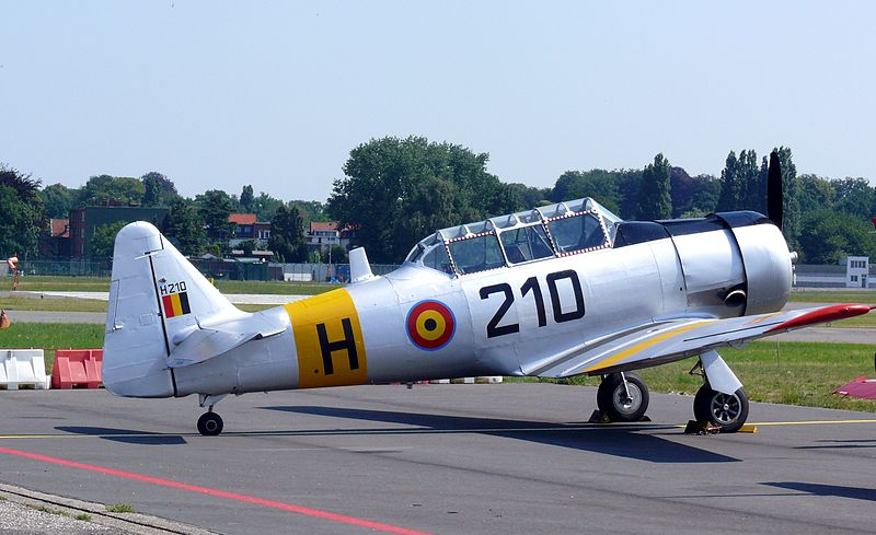 North American T-6G Texan belge