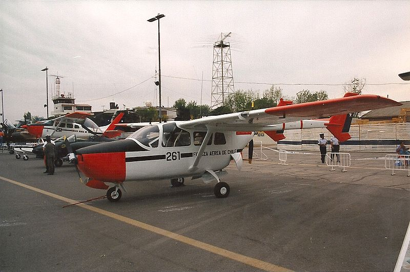Cessna 337 Skymaster (O-2A) chilien
