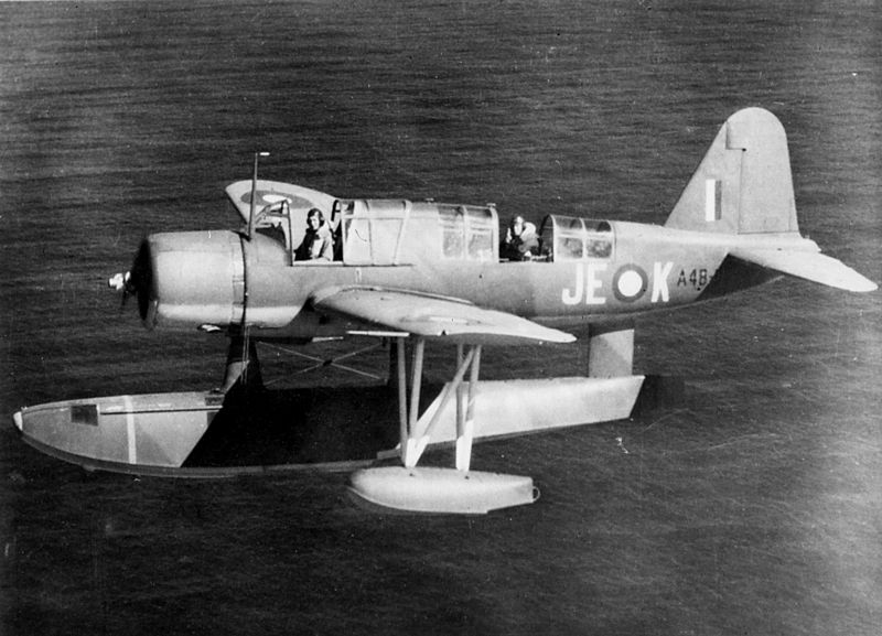 Vought OS2U-3 australien en vol