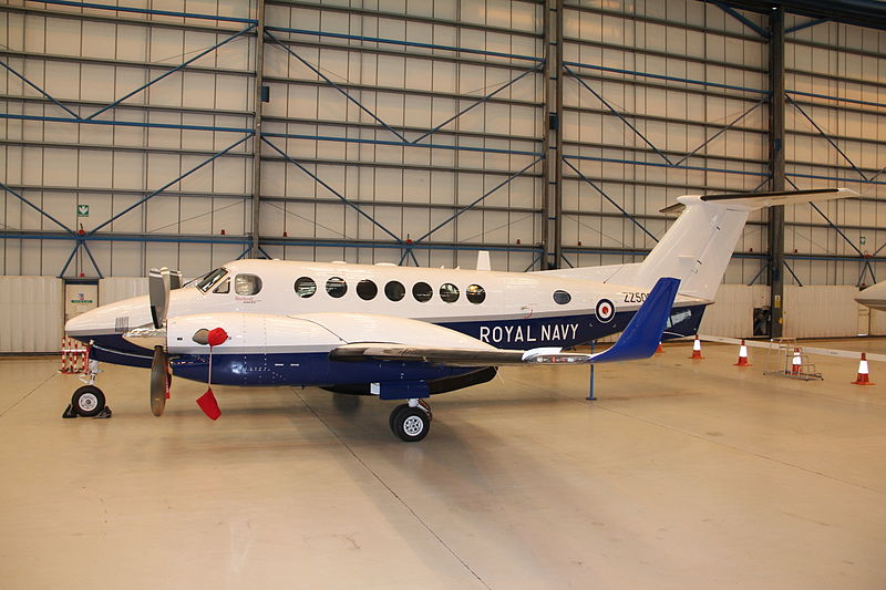 Beech 200 Super King Air (Avenger T.1) de la Royal Navy