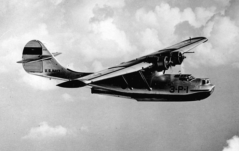 Consolidated PBY-1 Catalina de l'US Navy