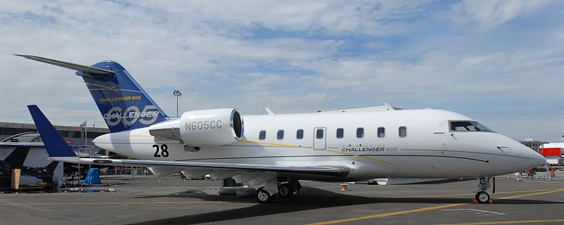 Canadair CL-605 Challenger civil