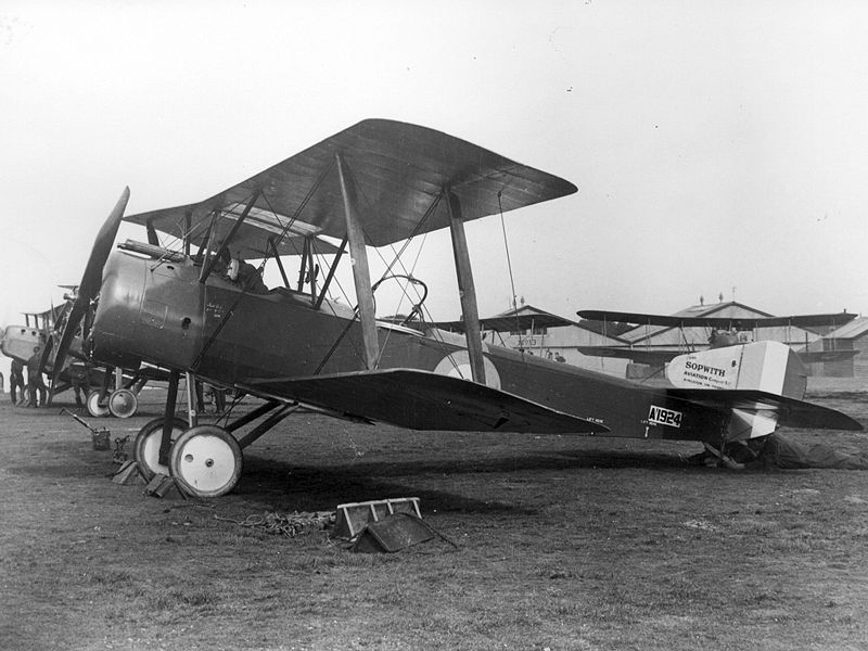 Sopwith Strutter du Royal Flying Corps