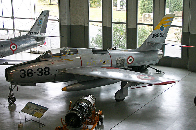Republic F-84F Thunderstreak italien