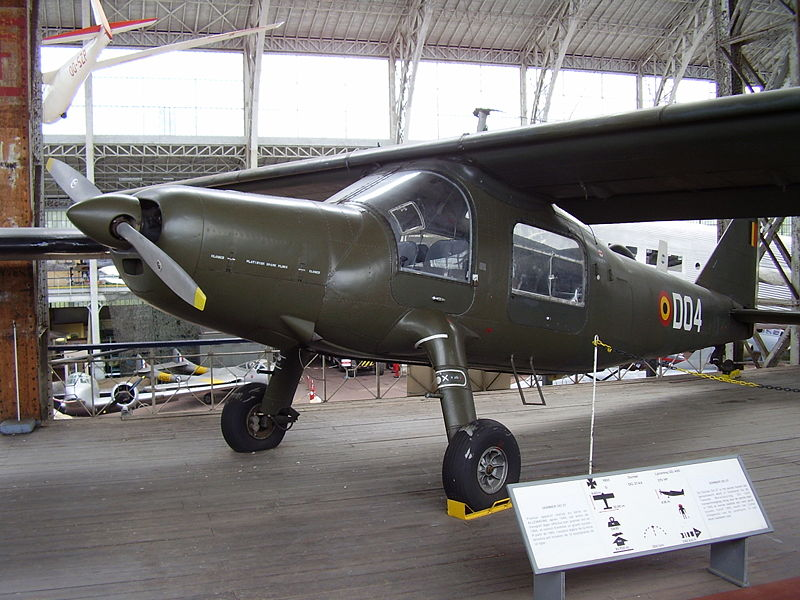 Dornier Do 27J-1 belge en exposition