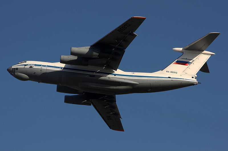 Iliouchine Il-76MD russe en vol