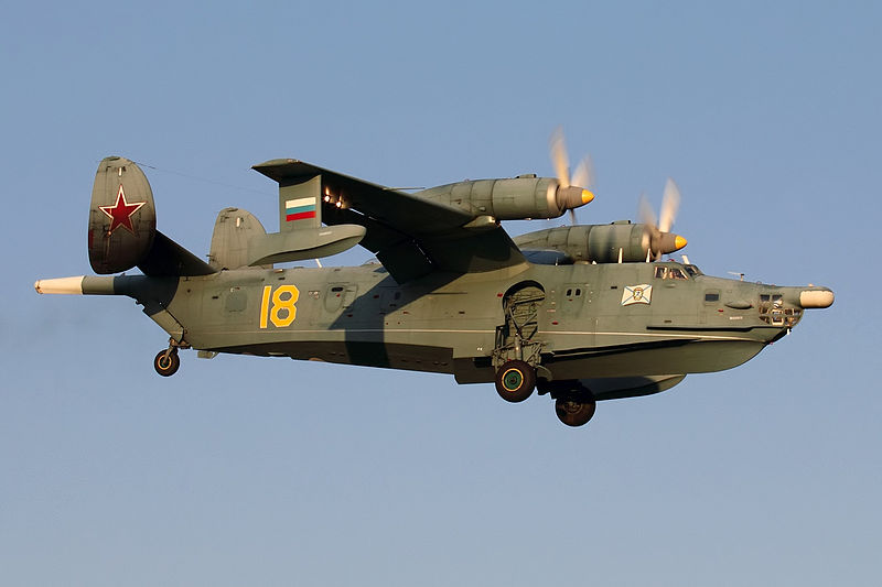 Beriev Be-12PS Mail de la marine russe en vol