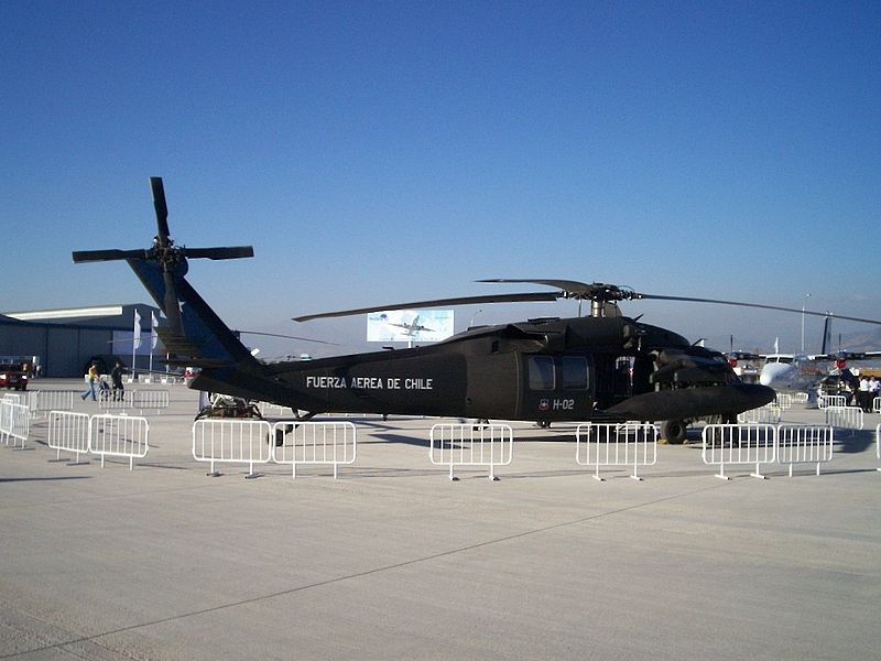 Sikorsky H-60 Black Hawk (S-70A) chilien