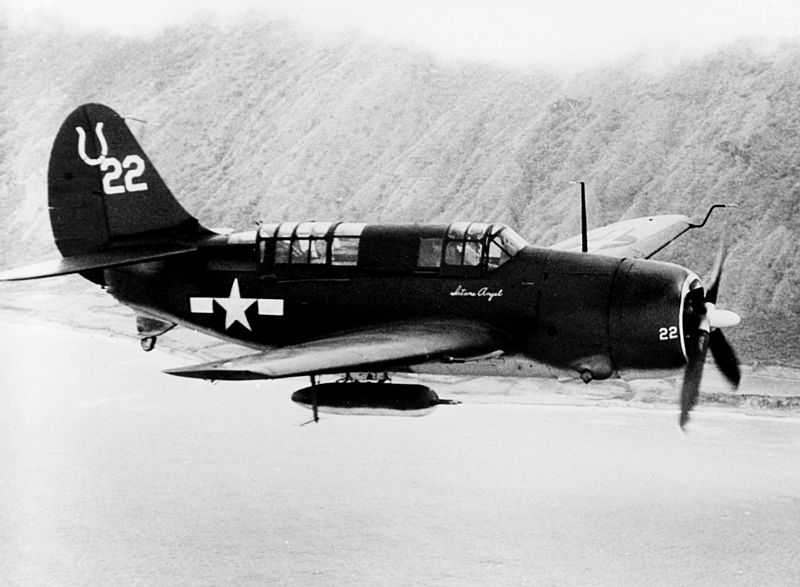 Curtiss SB2C-3 Helldiver de l'US Navy
