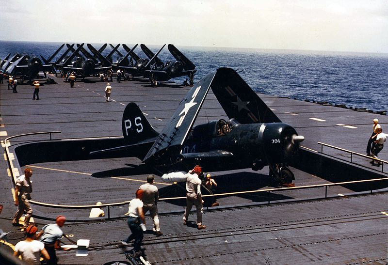 Curtiss SB2C-5 Helldiver de l'US Navy